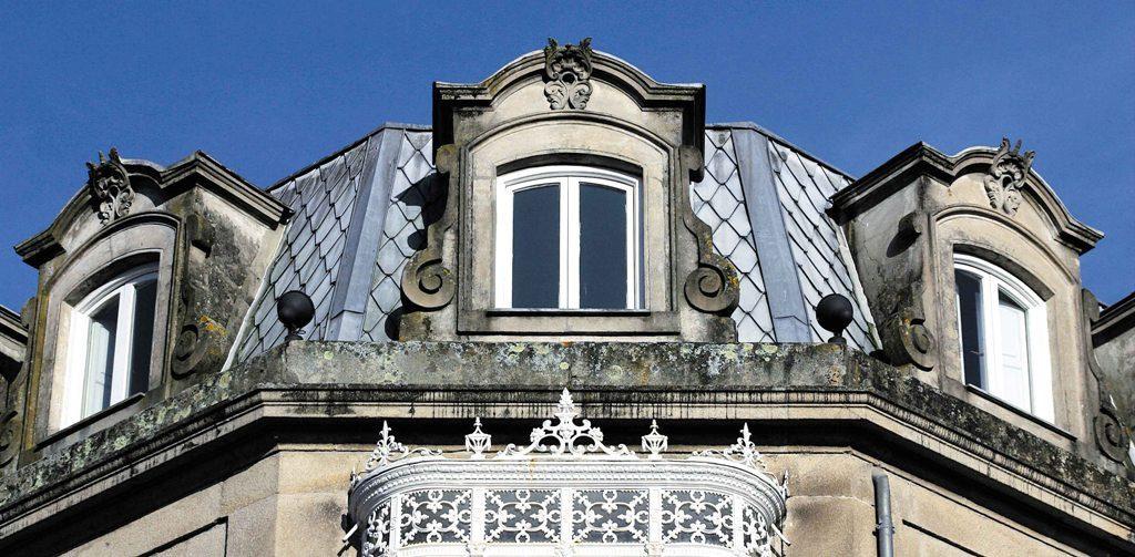 mansardas ventanas afrancesadas