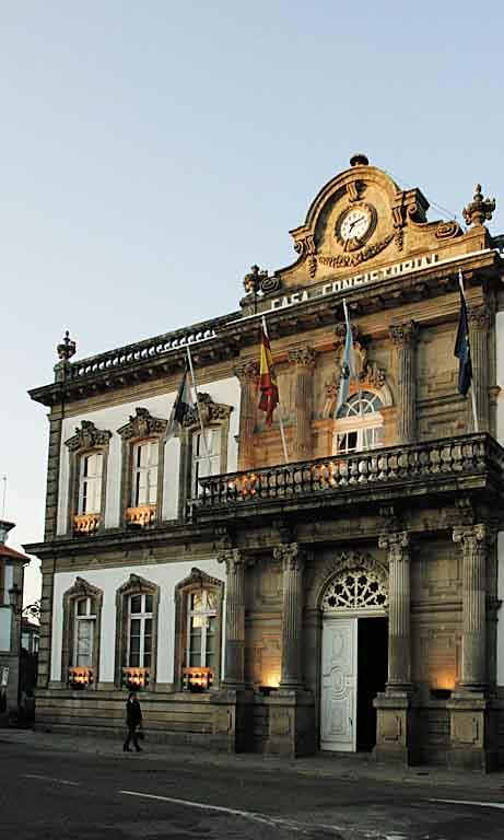 Capitel do Concello de Pontevedra