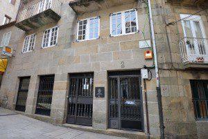Edificio administrativo da rúa Churruchaos