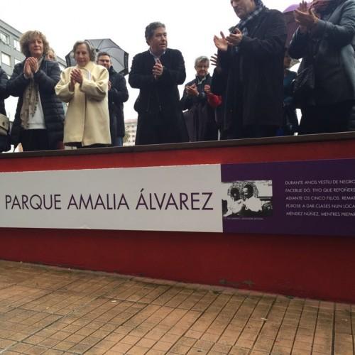Inauguración parque Amalia Álvarez 10