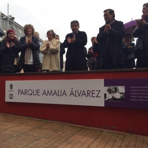 Inauguración parque Amalia Álvarez 4