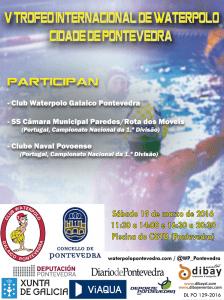 Cartel Trofeo Wp Ciudad de Pontevedra