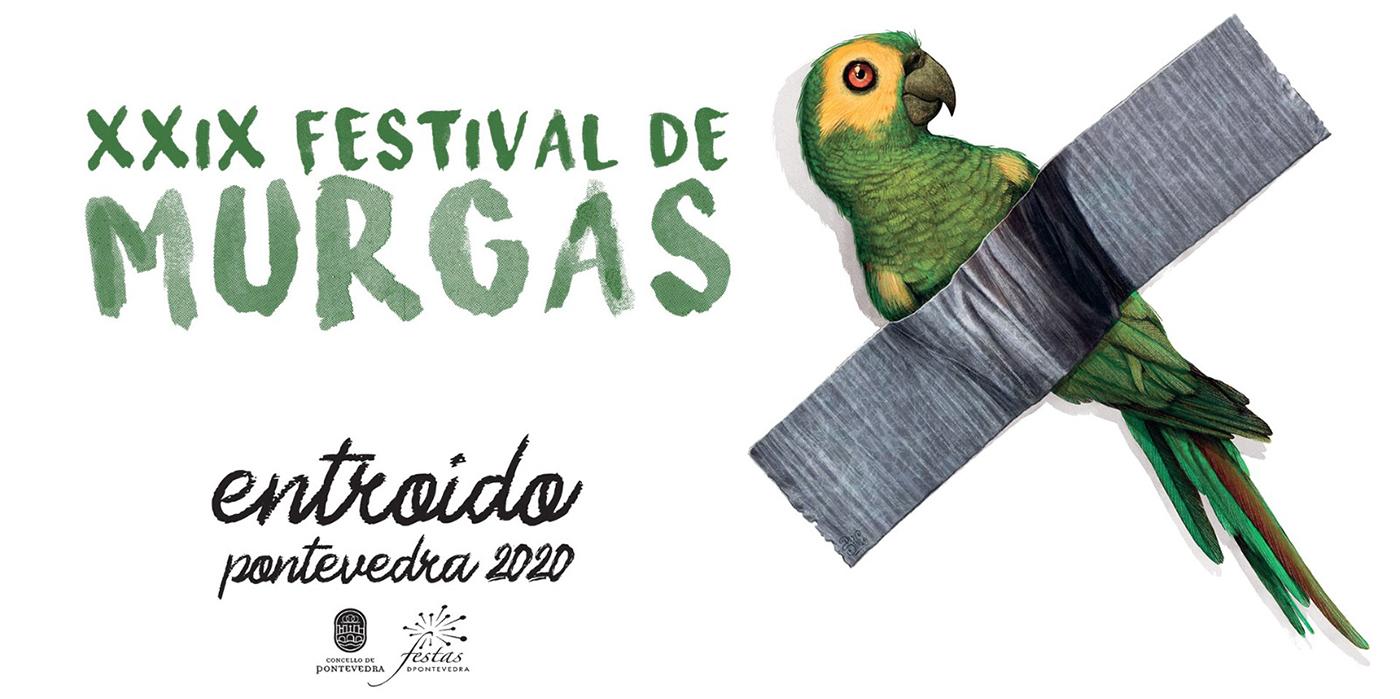 Banner XXIX Festival de Murgas de Pontevedra 2020