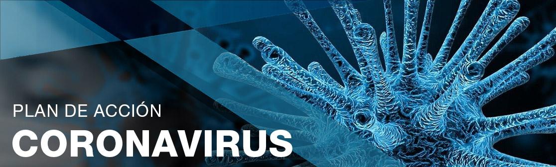 Banner coronavirus COVID-19