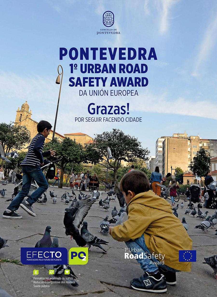 Anuncio PONTEVEDRA - premio Urban Road Safety Award 2020