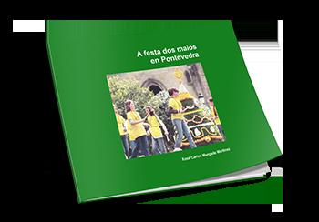 Cuberta Libro A Festa dos Maios en Pontevedra