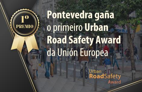 Pontevedra gaña o primeiro premio Urban Road Safety Award - Slide 2020