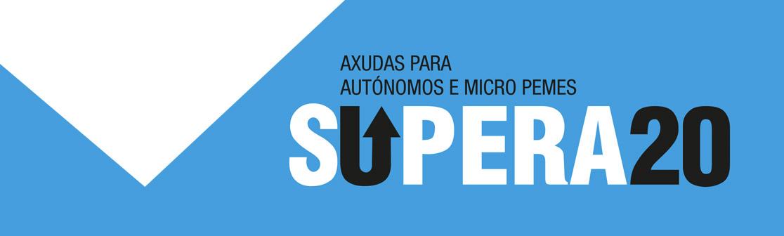 SUPERA20 - Banner SUBVENCIONS para micro pemes e autonomos