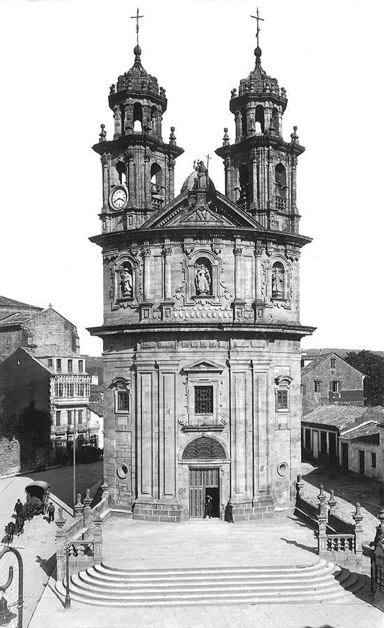Igrexa da Peregrina, ca. 1910 1915.