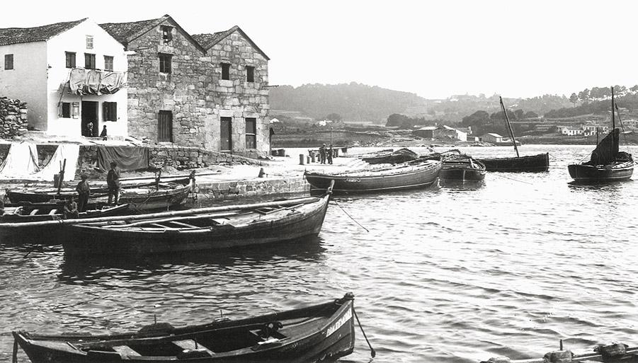 As Corbaceiras. Aprox. 1914-1915