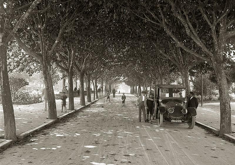 Rúa da Alameda, ca. 1910-1915