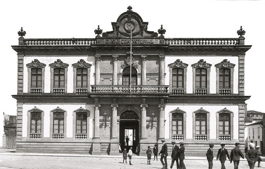 Casa do concello, ca. 1914-1915