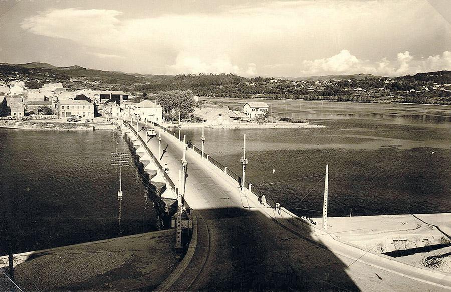 Ponte do Burgo, 1955