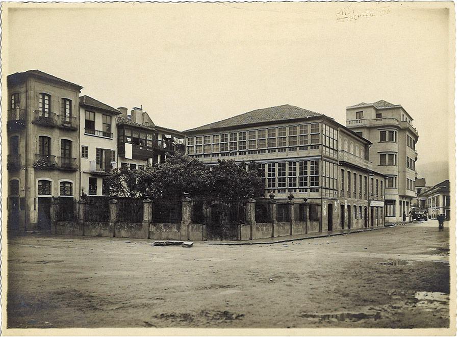 Praza de Valentín García Escudero, ca. 1940