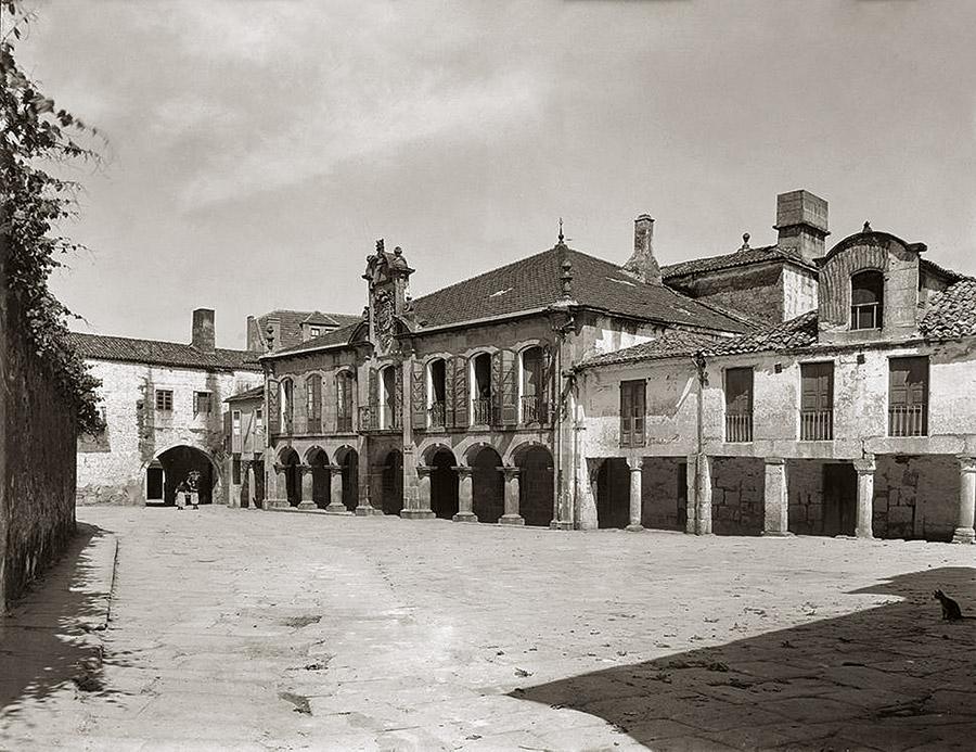 Praza da Pedreira, ca. 1929