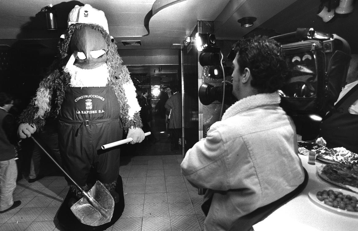 14. RAVACHOL 1996. DIARIO DE PONTEVEDRA. MIGUEL VIDAL