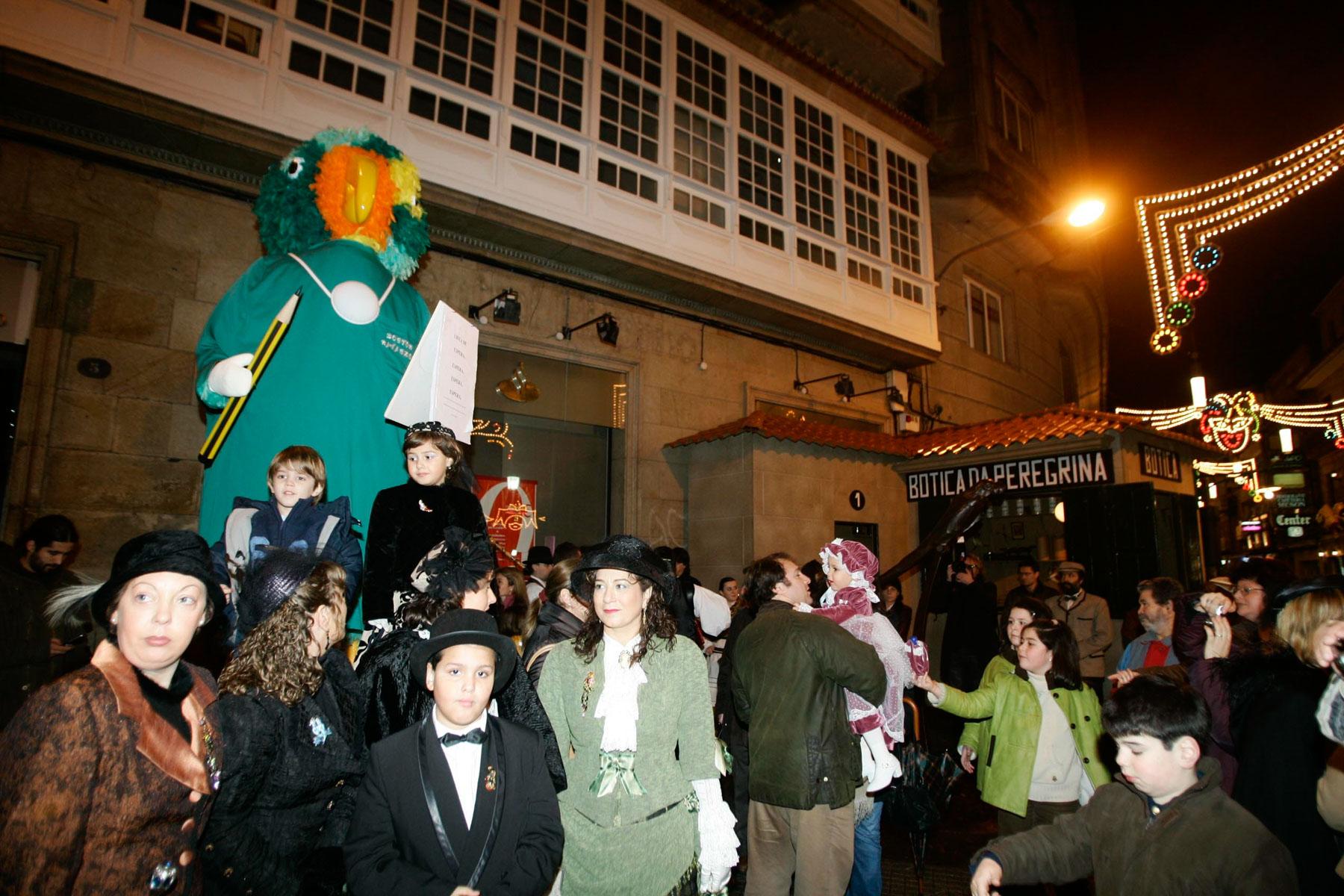 32. ENTERRO RAVACHOL 2007. DIARIO DE PONTEVEDRA. RAFA FARINA