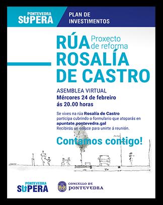Cartel reforma Rosalia de Castro