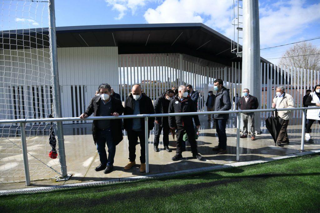 Apertura Campo de futbol de Ponte Sampaio @ConcellodePontevedra 2