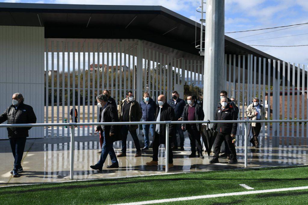 Apertura Campo de futbol de Ponte Sampaio @ConcellodePontevedra 3