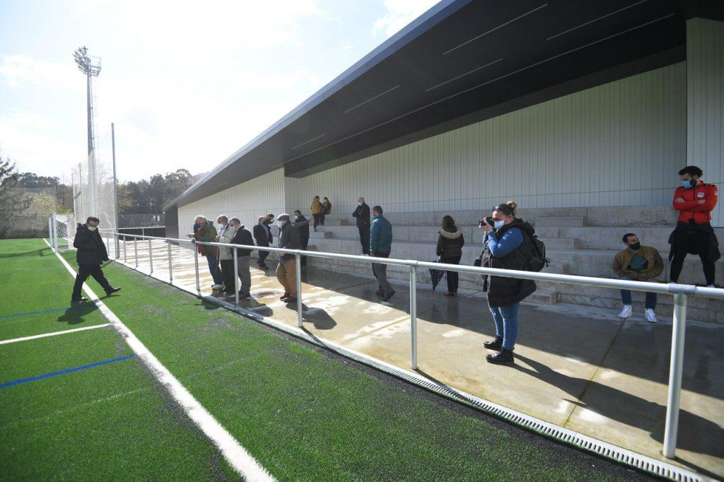 Apertura Campo de futbol de Ponte Sampaio @ConcellodePontevedra 5