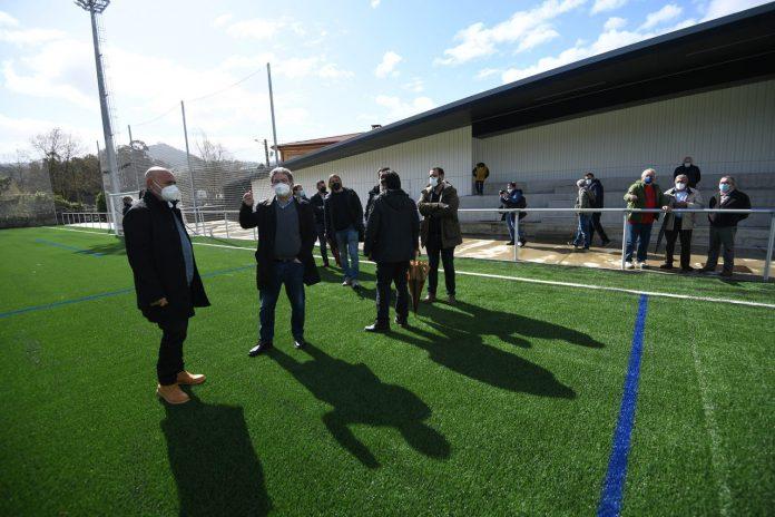 Apertura Campo de futbol de Ponte Sampaio @ConcellodePontevedra 6