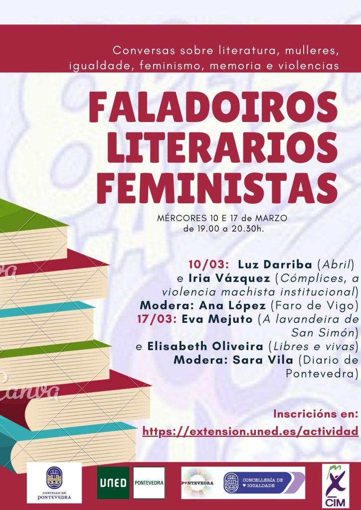 FALADOIROS LITERARIOS FEMINISTAS