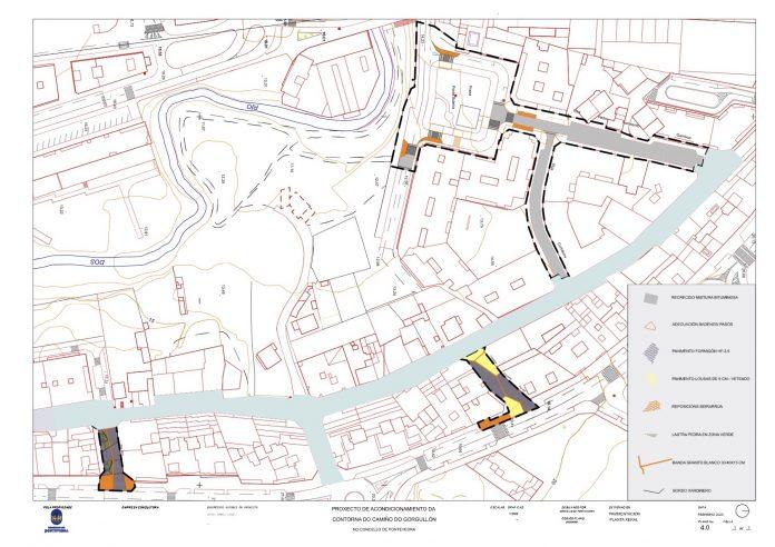 Plano reforma perimetrais do Gorgullon