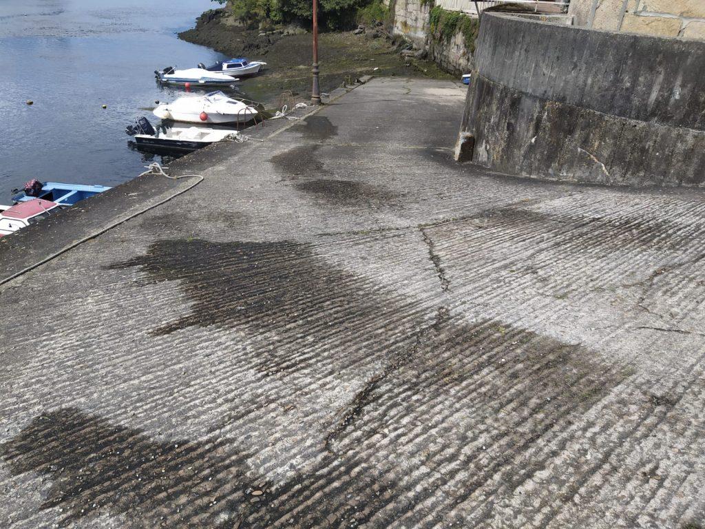 Zafarrancho de limpeza en Ponte Sampaio 1