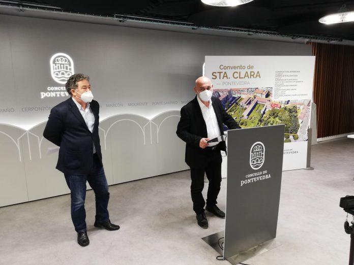 Alcalde e Tino presentacion de modificacion de credito 2021