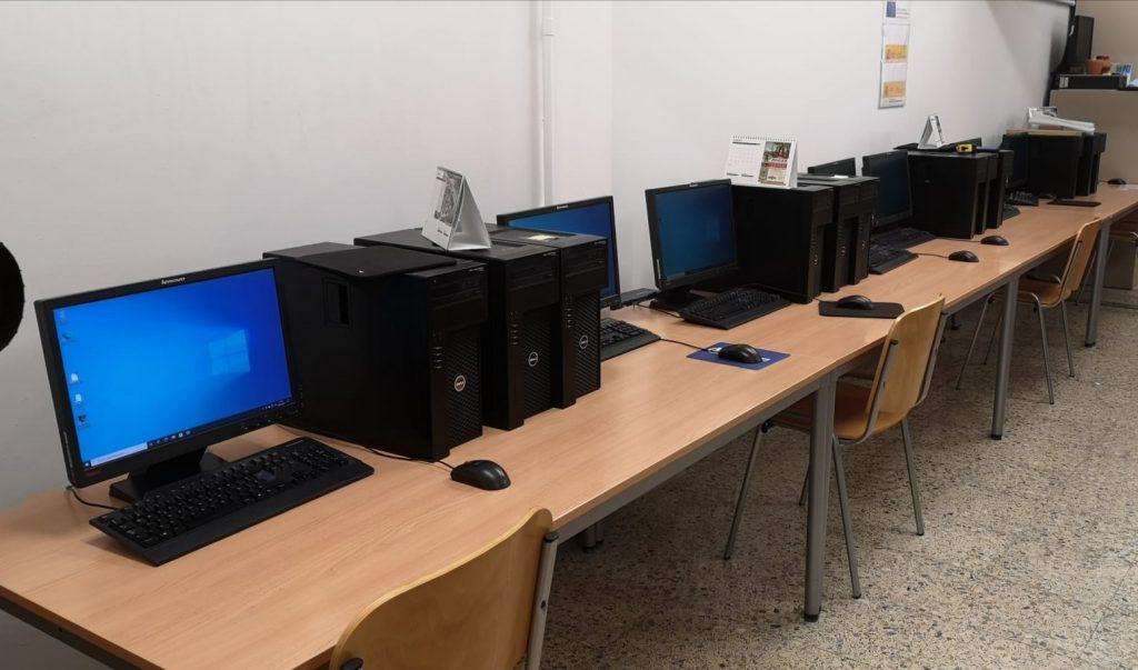 Aula Informática Casa Azul