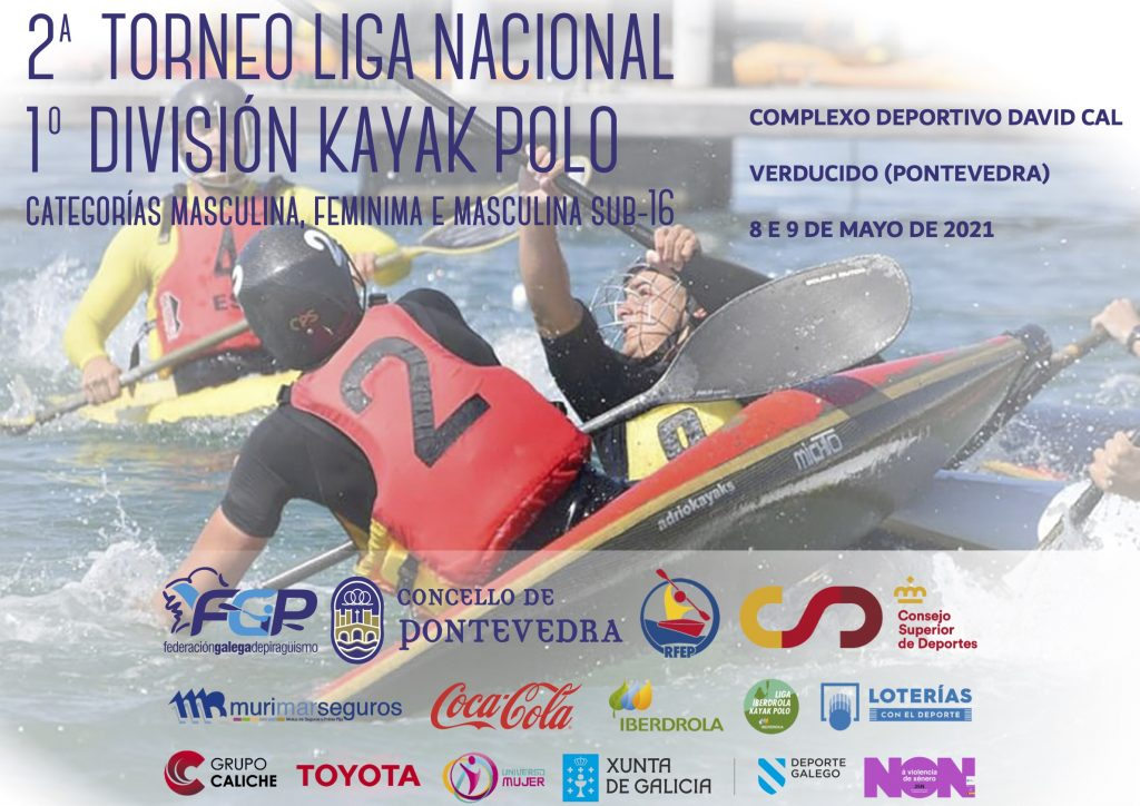 CARTEL 2o TORNEO LIGA NACIONAL DE 1o DIVISIÓN KAYAK POLO REVISAR 1