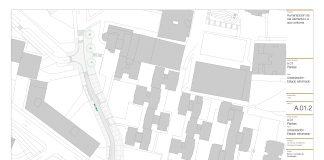 Plano urbanización rúa Alemania