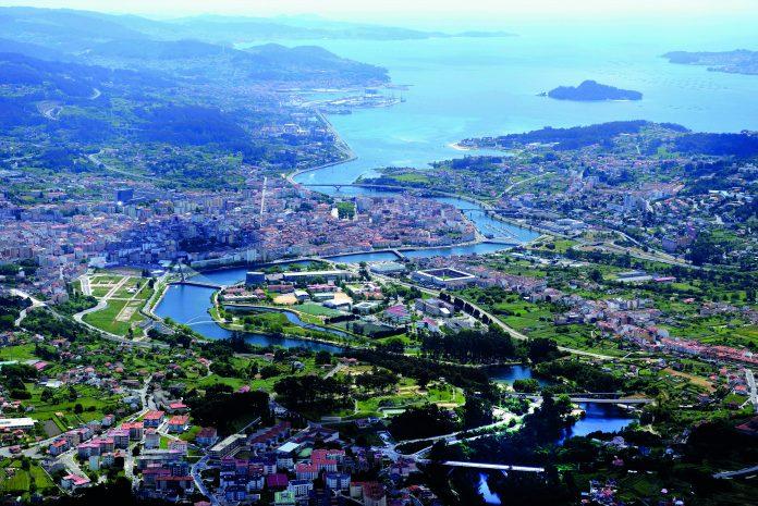 Pontevedra vista aerea