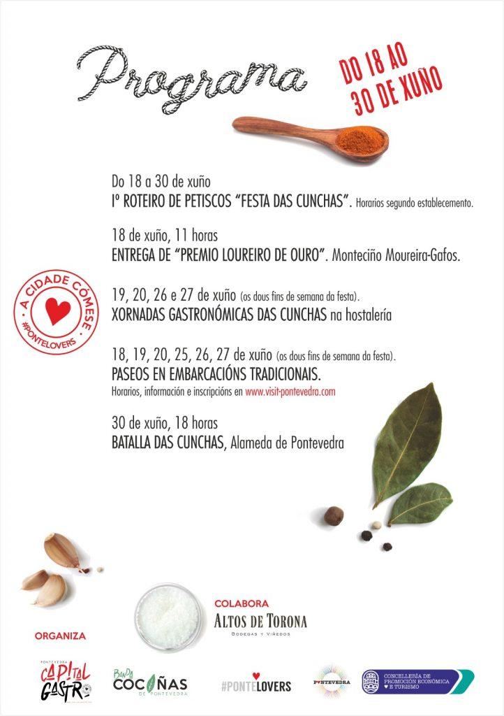 Programa Festa das Cunchas
