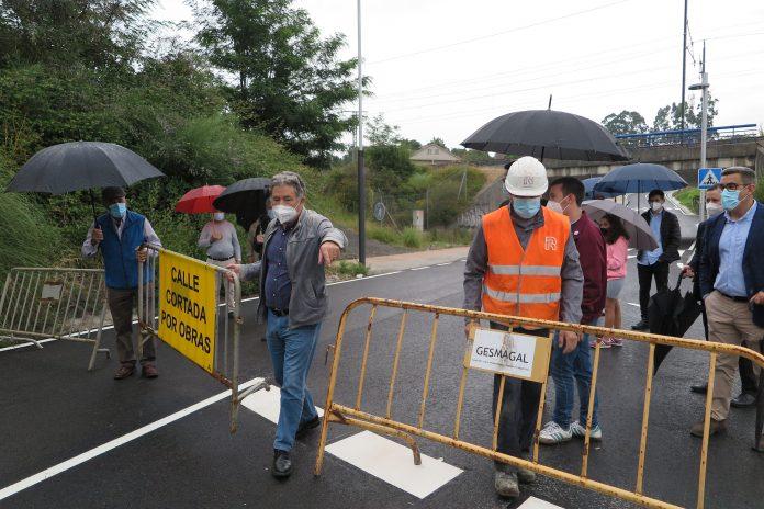 Apertura do acceso a Monte Porreiro polos Campos Tafisa 2