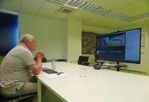 Cesar Mosquera videoconferencia con La Rochelle 1