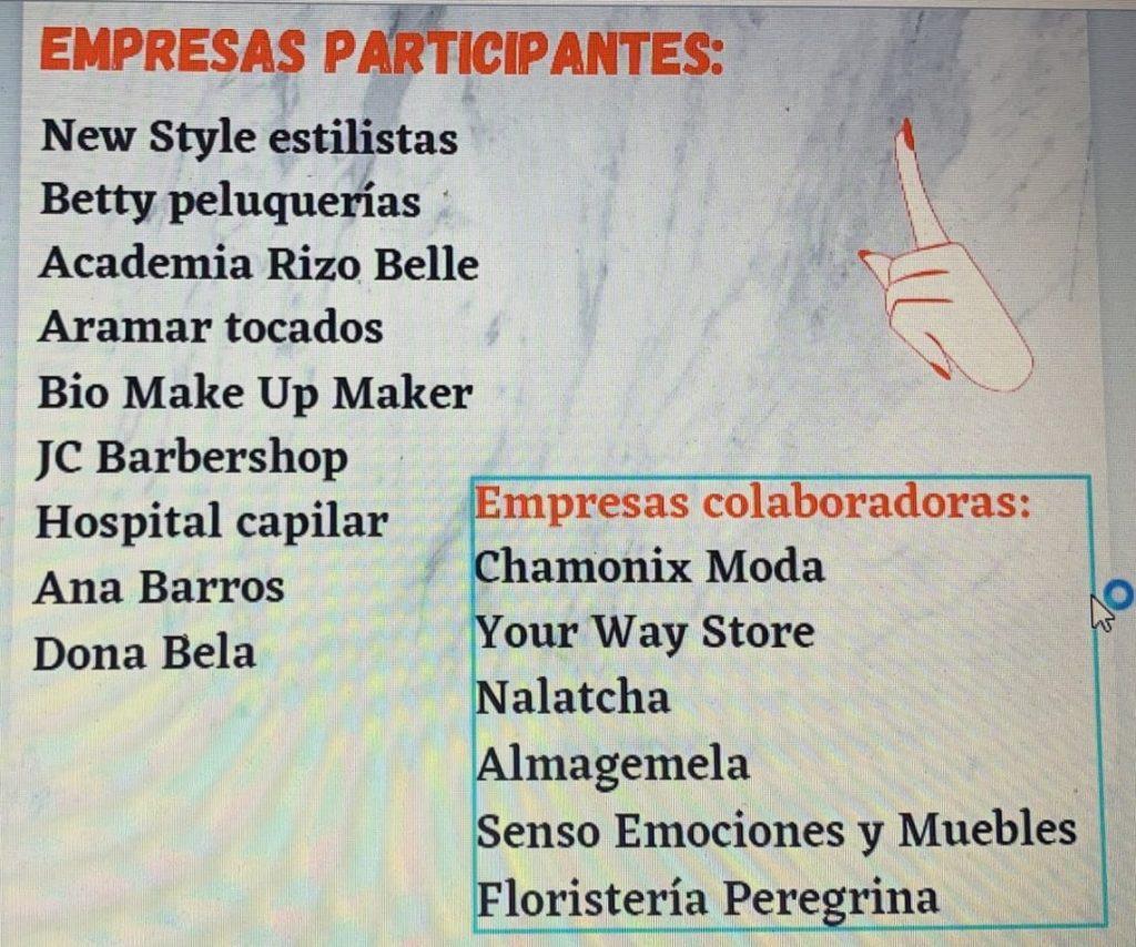 Listado de empresas participantes en Rizando o Rizo 2021