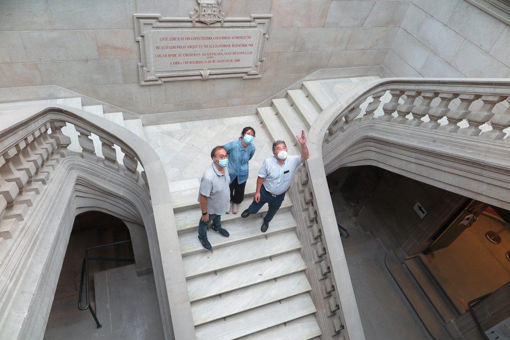 Visita Casa Consistorial catas nos muros 3