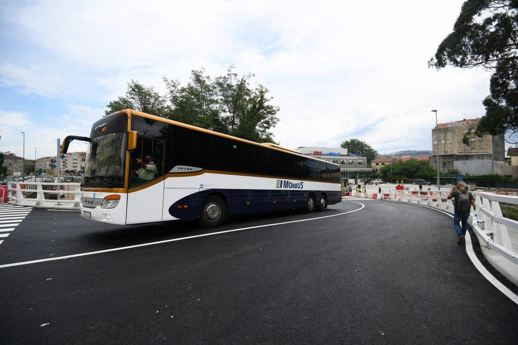 Visita estacion de bus. Apertura acceso Josefina Arruti 2