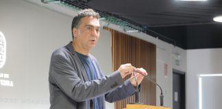 Demetrio Gómez, dando conta da Comisión de Mobilidade, Infraestruturas e Obras