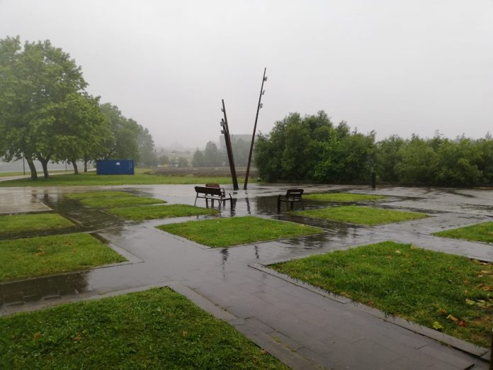 Zona na que se ubicará o parque